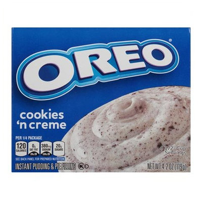 JELL-O Oreo Cookies & Creme Instant Pudding & Pie Filling