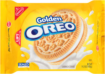 Nabisco Oreo Golden Sandwich Cookies