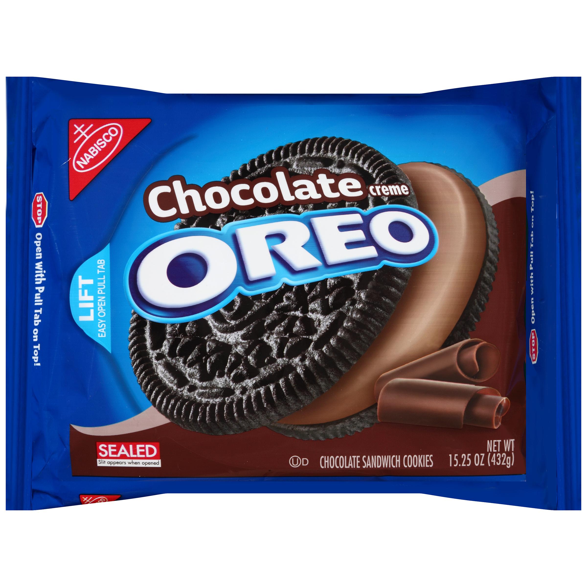 Nabisco Oreo Cookies Chocolate Creme