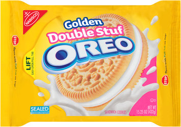 Nabisco Oreo - Sandwich Cookies - Double Stuff Golden