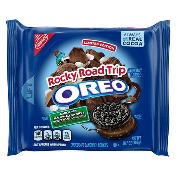 Oreo Rocky Road Trip Chocolate Sandwich Cookies