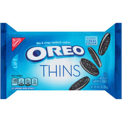 Nabisco Oreo Sandwich Cookies Thins