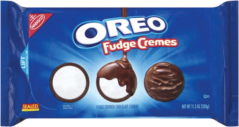 Nabisco Oreo Cookies Fudge Cremes