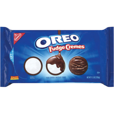 Nabisco Oreo Cookies Fudge Cremes