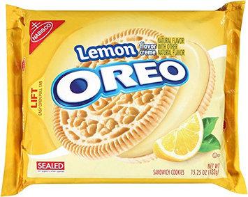 Nabisco Oreo - Sandwich Cookie - Lemon Creme