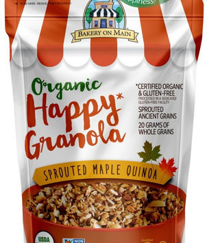 Bakery on Main Organic Happy Granola Sprouted Maple Quinoa