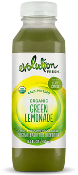 Evolution Fresh™ Cold-Pressed Organic Green Lemonade Vegetable and Fruit Juice