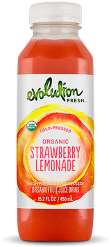 Evolution Fresh™ Cold-Pressed Organic Strawberry Lemonade Fruit Juice