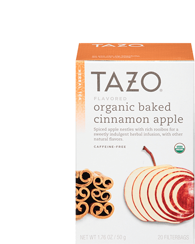 Tazo Organic Baked Cinnamon Apple Herbal Tea