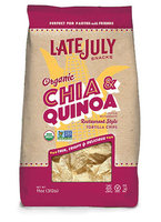 Late July® Snacks Restaurant Style Tortilla Chips Organic Chia and Quinoa