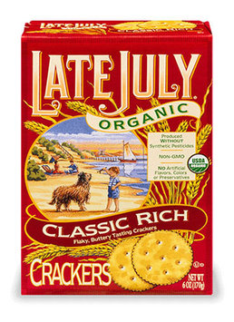 Late July® Snacks Classic Crackers Organic Classic Rich Crakers