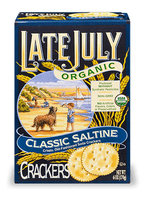Late July® Snacks Classic Crackers Organic Classic Saltline Crakers