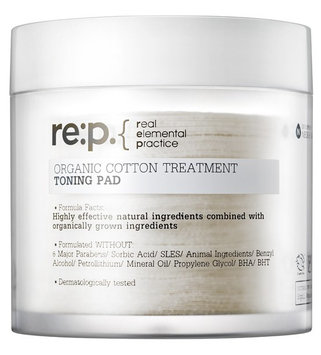 re:p. Organic Cotton Treatment Toning Pad