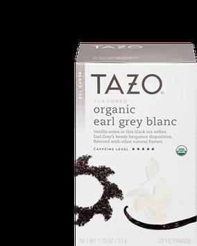 Tazo Organic Earl Grey Blanc Black Tea