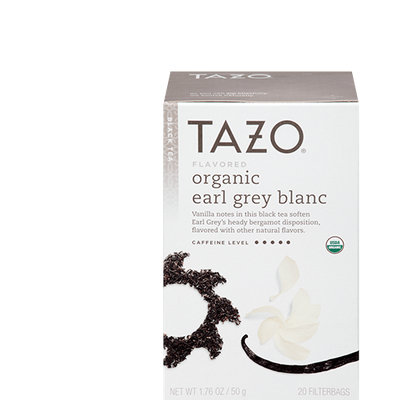 Tazo Organic Earl Grey Blanc Black Tea