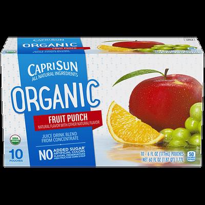 Capri Sun® Organic Fruit Punch Juice Drink