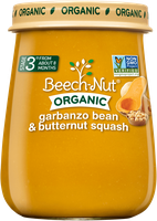 Beech-Nut® Stage 3 Organic Garbanzo Bean & Butternut Squash