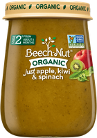 Beech-Nut® Stage 2 Organic Just Apple, Kiwi & Spinach