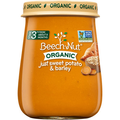 Beech-Nut® Stage 3 Organic Just Sweet Potato & Barley