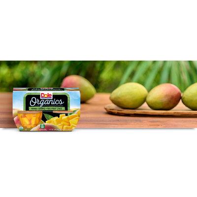 Dole Organic Mango Chunks In 100% Juice