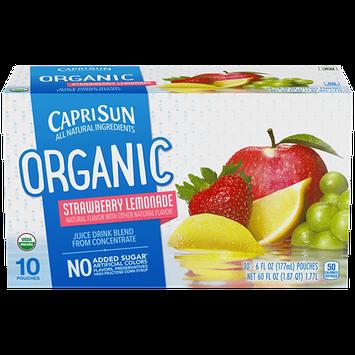 Capri Sun® Organic Strawberry Lemonade Juice Drink