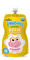 Lifeway Organic Strawnana ProBugs Whole Milk Kefir