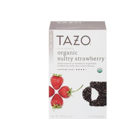 Tazo Organic Sultry Strawberry Black Tea