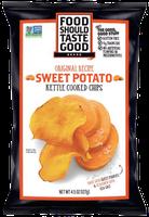 Food Should Taste Good Original Kettle Cooked Sweet Potato Chips