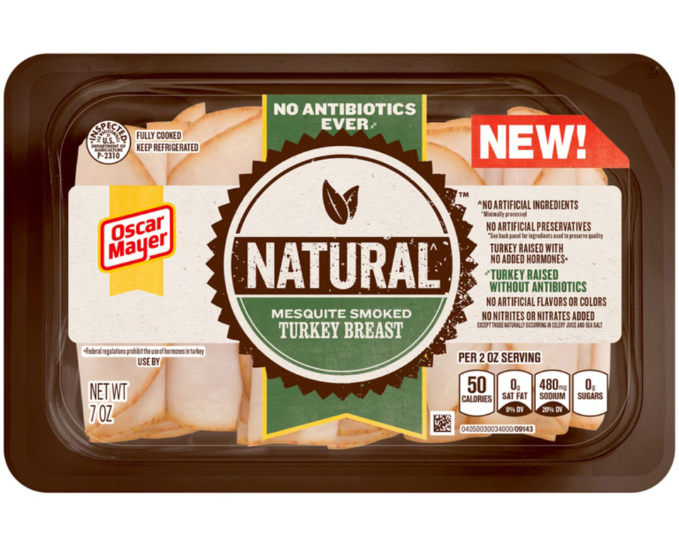 Oscar Mayer Natural No Antibiotics Ever Mesquite Smoked Turkey Breast