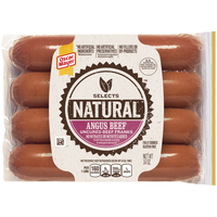 OSCAR MAYER Selects Angus Smoked Uncured Beef Franks