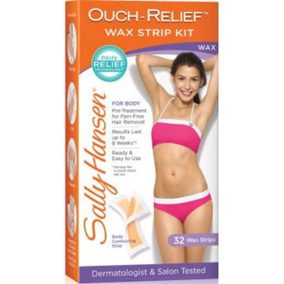 Sally Hansen® Ouch-Relief Wax Strip Kit for Body