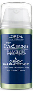 L'Oréal Paris Hair Expertise EverStrong Sulfate-Free Fortify System Overnight Repair Treatment