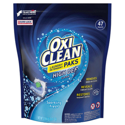 OxiClean™ Laundry Detergent Paks