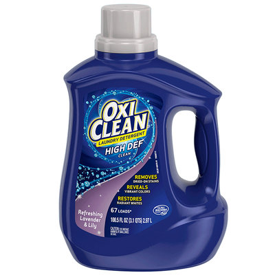 OxiClean™ Refreshing Lavender & Lily Liquid Laundry Detergent
