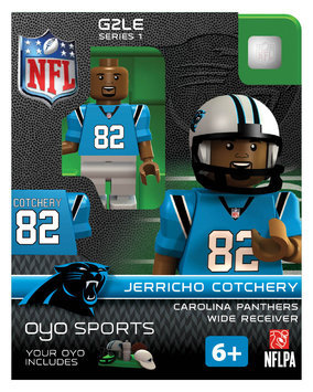 Oyo Sportstoys Inc NFL - CAR - Carolina Panthers Jerricho Cotchery Limited Edition