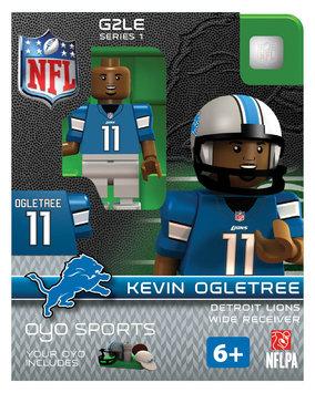 Oyo Sportstoys Inc NFL - DET - Detroit Lions Kevin Ogletree Limited Edition