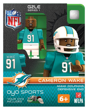 Oyo Sportstoys Inc NFL - MIA - Miami Dolphins Cameron Wake Limited Edition