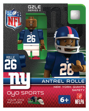 Oyo Sportstoys Inc NFL - NYG - New York Giants Antrel Rolle Limited Edition