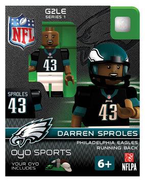Oyo Sportstoys Inc NFL - PHI - Philadelphia Eagles Darren Sproles Limited Edition