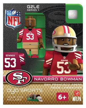 Oyo Sportstoys Inc NFL - SAN - San Francisco 49ers NaVorro Bowman Limited Edition