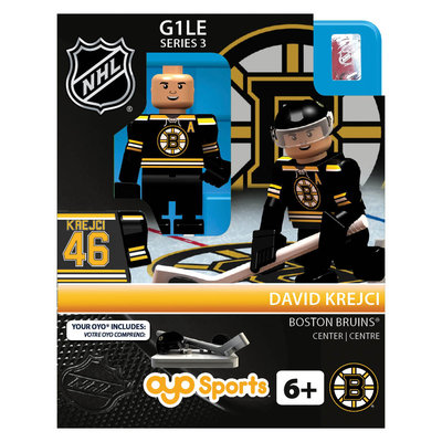Oyo Sportstoys Inc Boston Bruins NHL OYO Minifigure Dave Kercji