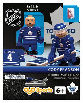 Oyo Sportstoys Inc NHL - TOR - Toronto Maple Leafs Cody Franson Home Uniform Limited Edition