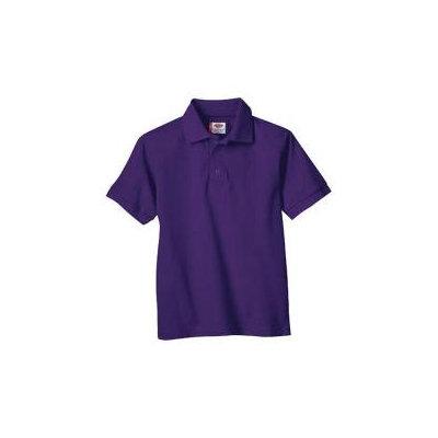Dickies Mens Short Sleeve Pique Polo Shirt Purple S