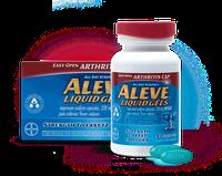 Aleve Liquid Gels Easy Open Arthritis Cap