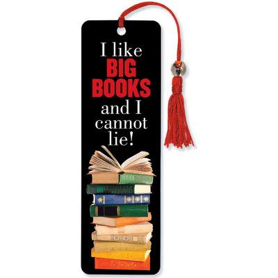 I Like Big Books Beaded Bookmark (Bookmark)