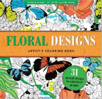 Floral Designs Artist's Coloring Book