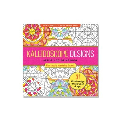 Kaleidoscope Designs Artist's Coloring Book (31 stress-relieving designs)