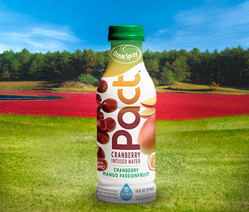 Ocean Spray Pact® Cranberry Infused Water Cranberry Mango Passion fruit