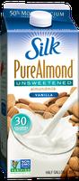 Silk Pure Almond Unsweetened Vanilla