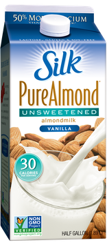 Silk Pure Almond Unsweetened Vanilla